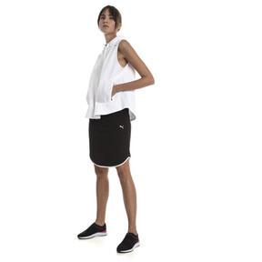 Thumbnail 3 of Women's Summer Skirt, Cotton Black, medium