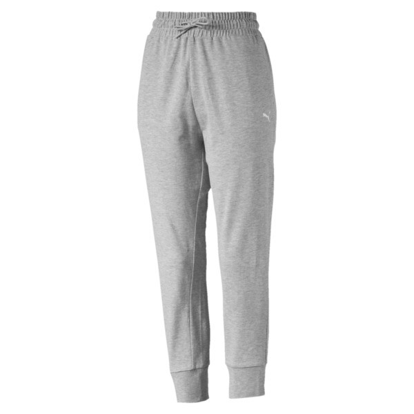 Women's Summer Pants, Light Gray Heather, large