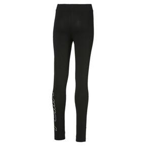 Thumbnail 2 van Alpha legging voor meisjes, Cotton Black, medium
