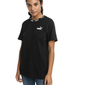 Thumbnail 1 of Amplified Boyfriend Women's Tee, Cotton Black, medium