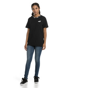 Thumbnail 3 of Amplified Boyfriend Women's Tee, Cotton Black, medium