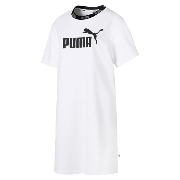 Amplified Women's Tee Dress, Puma White, large