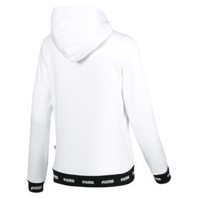 Thumbnail 5 of Amplified Women's Hoodie, Puma White, medium