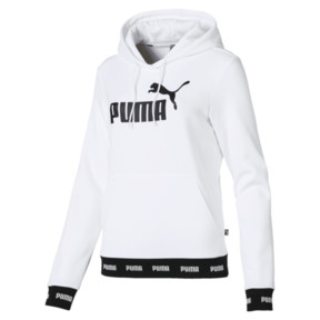 Thumbnail 4 of Amplified Women's Hoodie, Puma White, medium