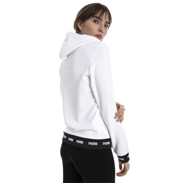 Amplified Women's Hoodie, Puma White, large