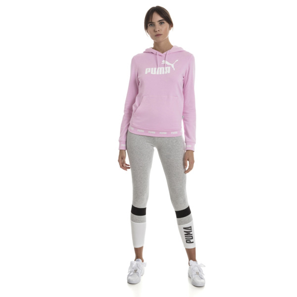 Amplified Women's Hoodie, Pale Pink, large