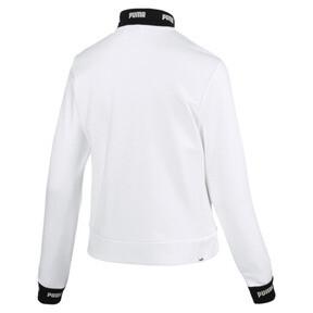 Thumbnail 2 of Amplified Track Jacket, Puma White, medium
