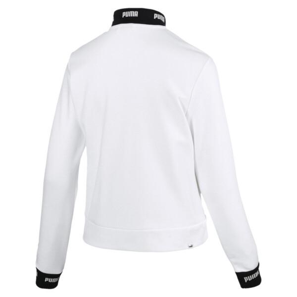 Amplified Track Jacket, Puma White, large