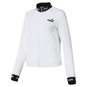 Thumbnail 1 of Amplified Track Jacket, Puma White, medium