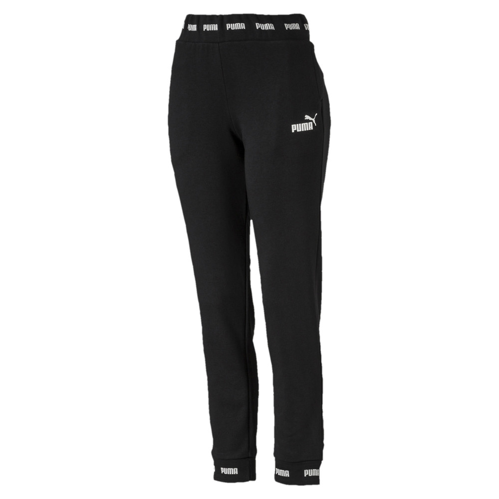 Image Puma Amplified Knitted Women's Sweatpants #1