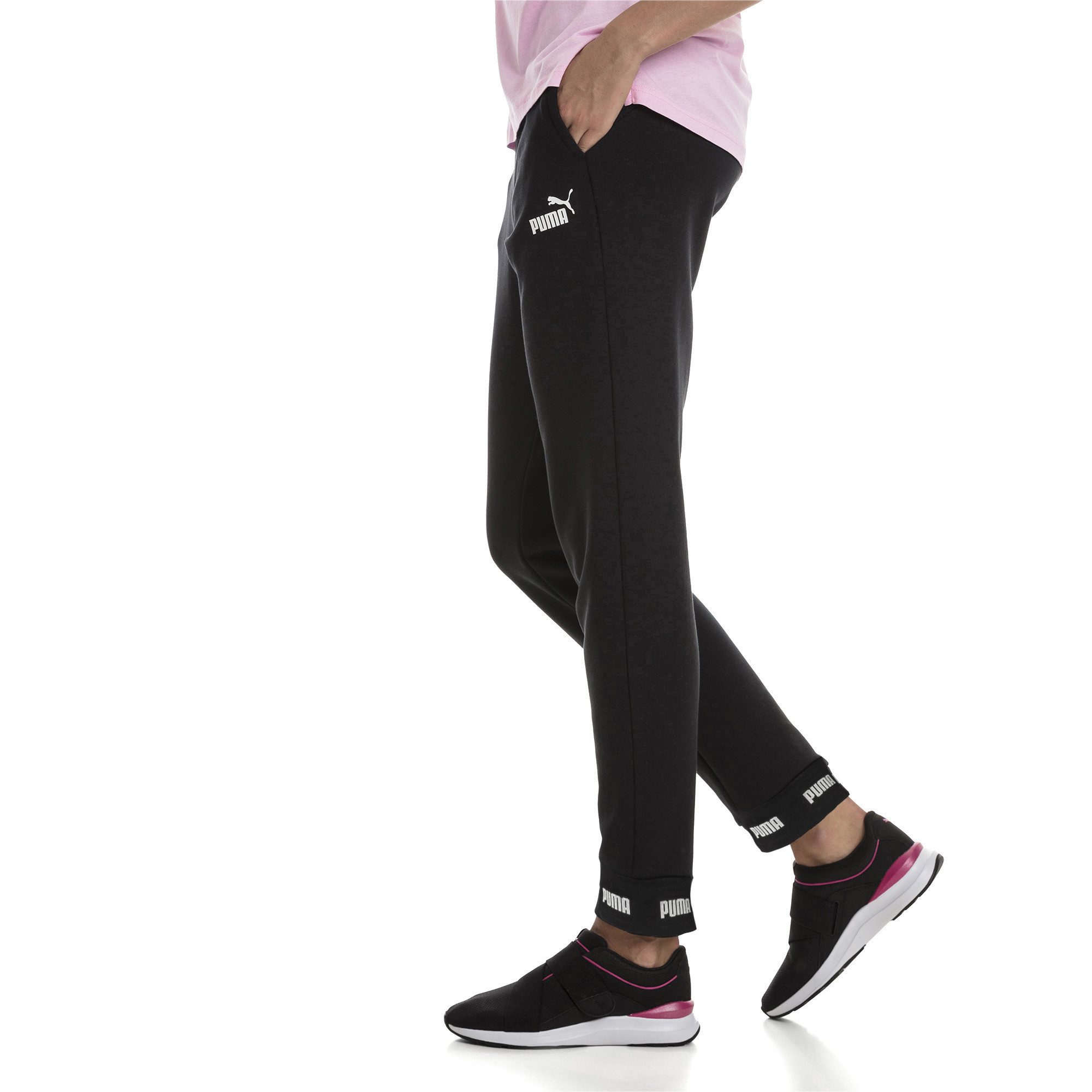 Image Puma Amplified Knitted Women's Sweatpants #1