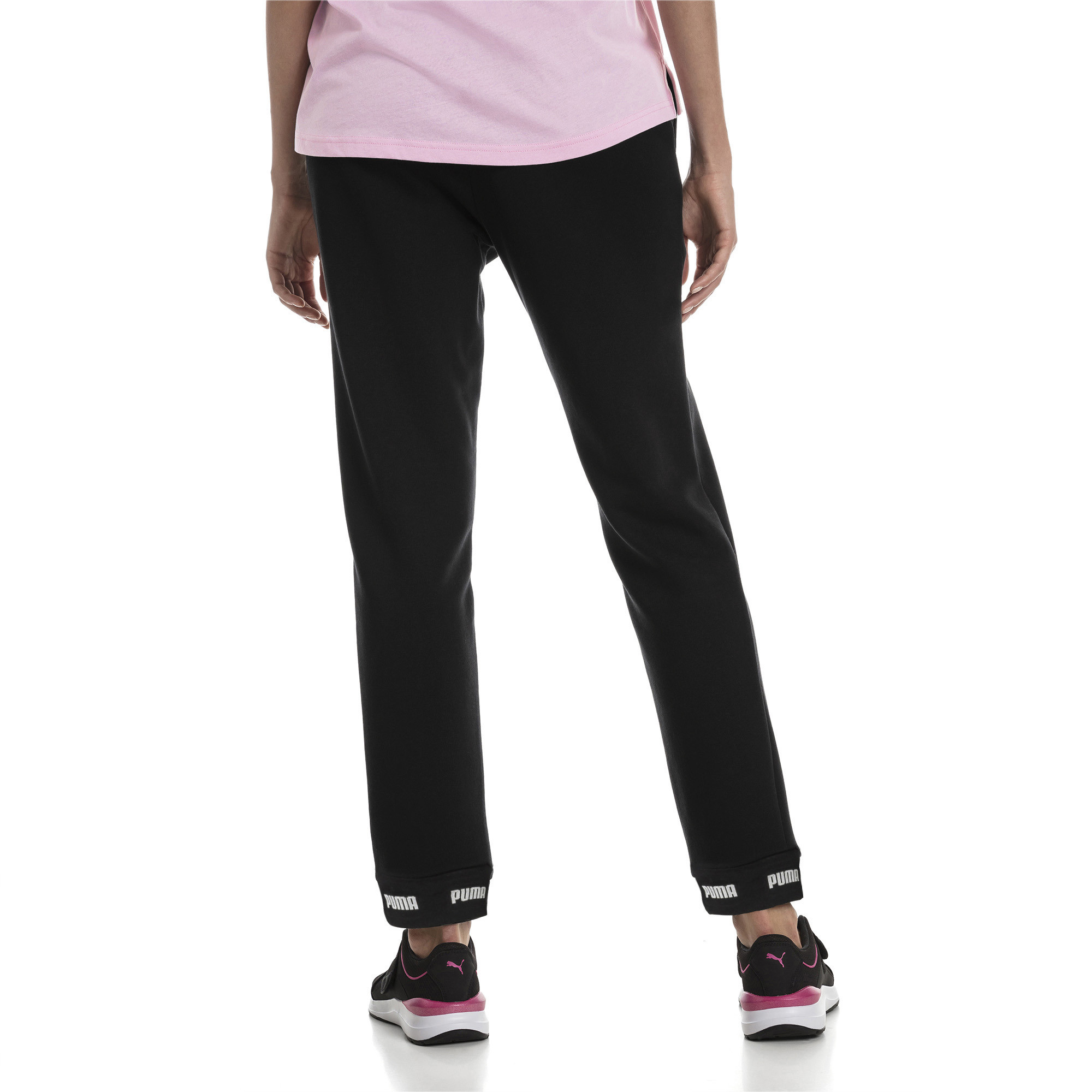 Image Puma Amplified Knitted Women's Sweatpants #2