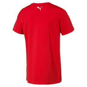 Thumbnail 2 of Alpha Graphic Boys' Tee, High Risk Red, medium