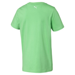 Thumbnail 2 of Alpha Graphic Boys' Tee, Irish Green, medium