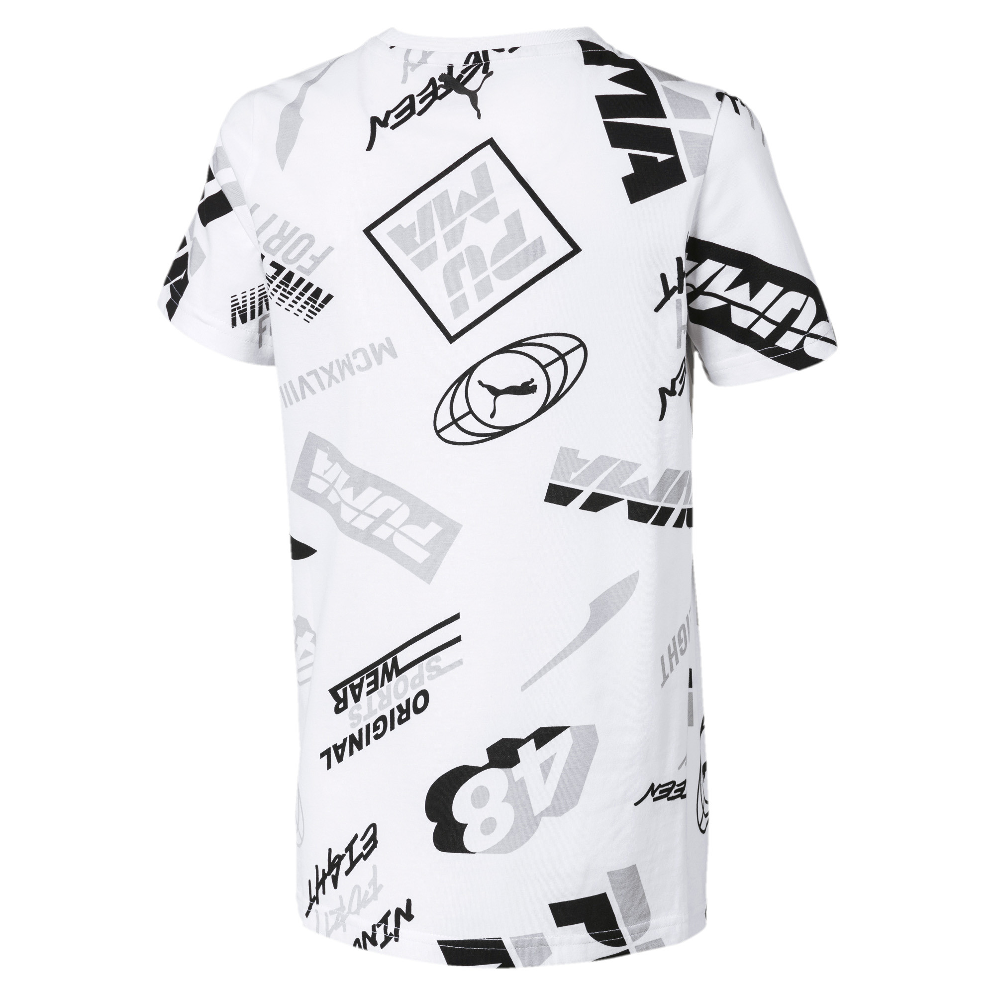 Image Puma Alpha Graphic Boys' Tee #2