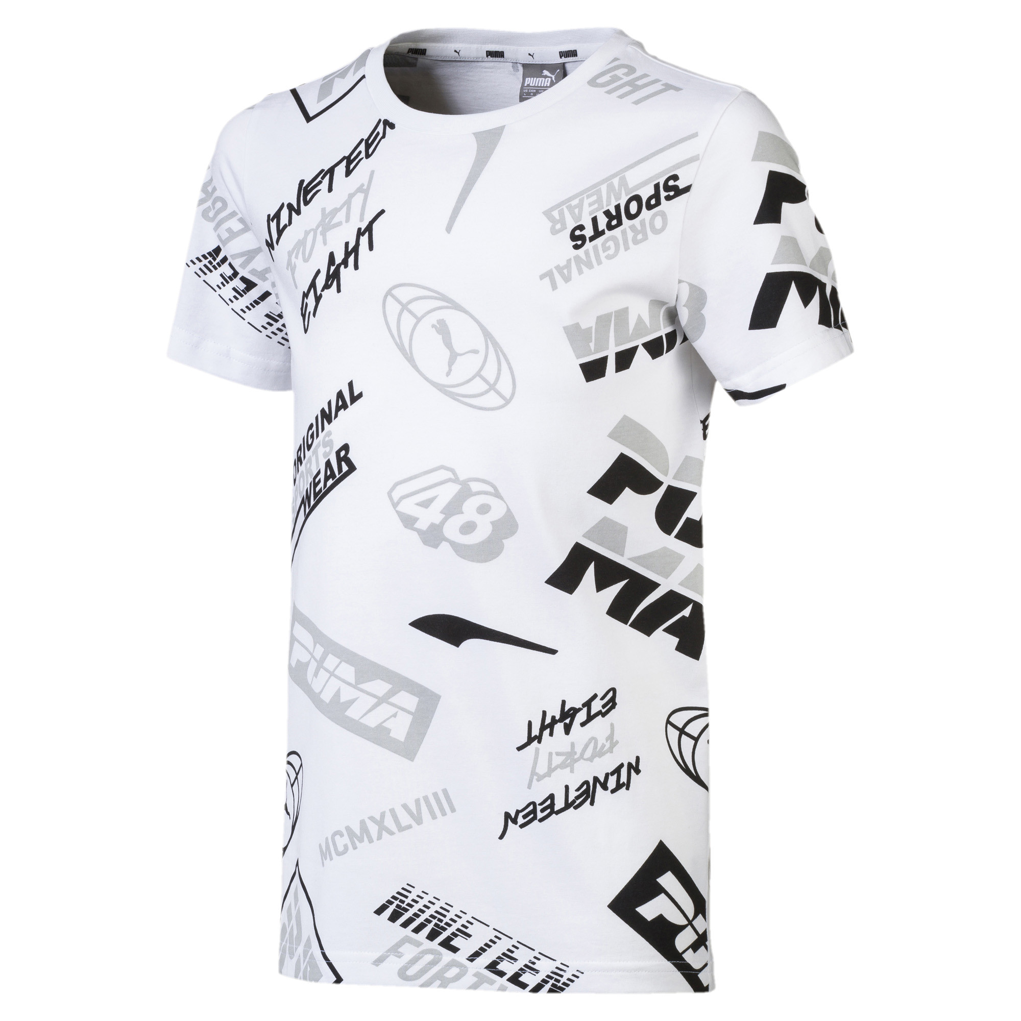 Image Puma Alpha Graphic Boys' Tee #1