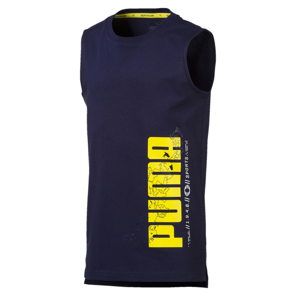 Image Puma Active Sport Boys' Sleeveless Tee #1