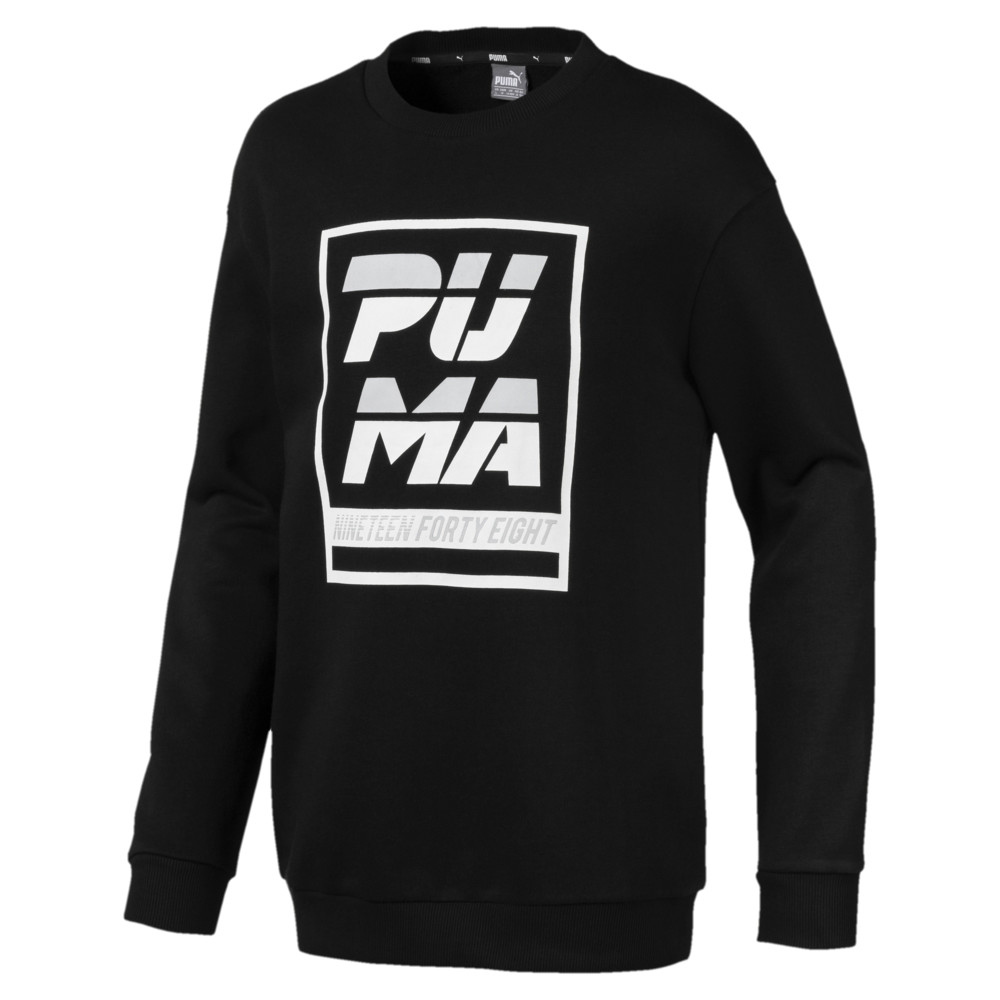 Image Puma ALPHA Boys' Crew Sweater #1