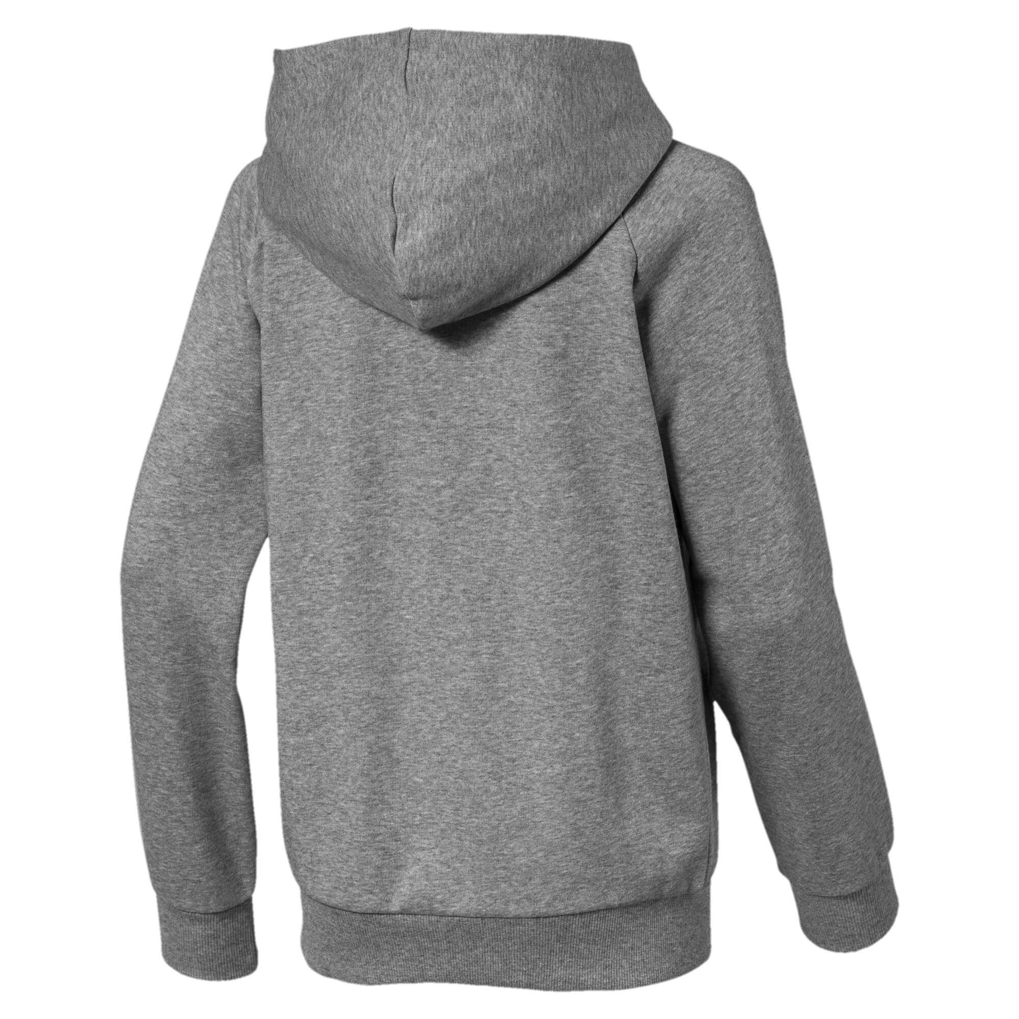 Image Puma ALPHA Hooded Boys' Jacket #2