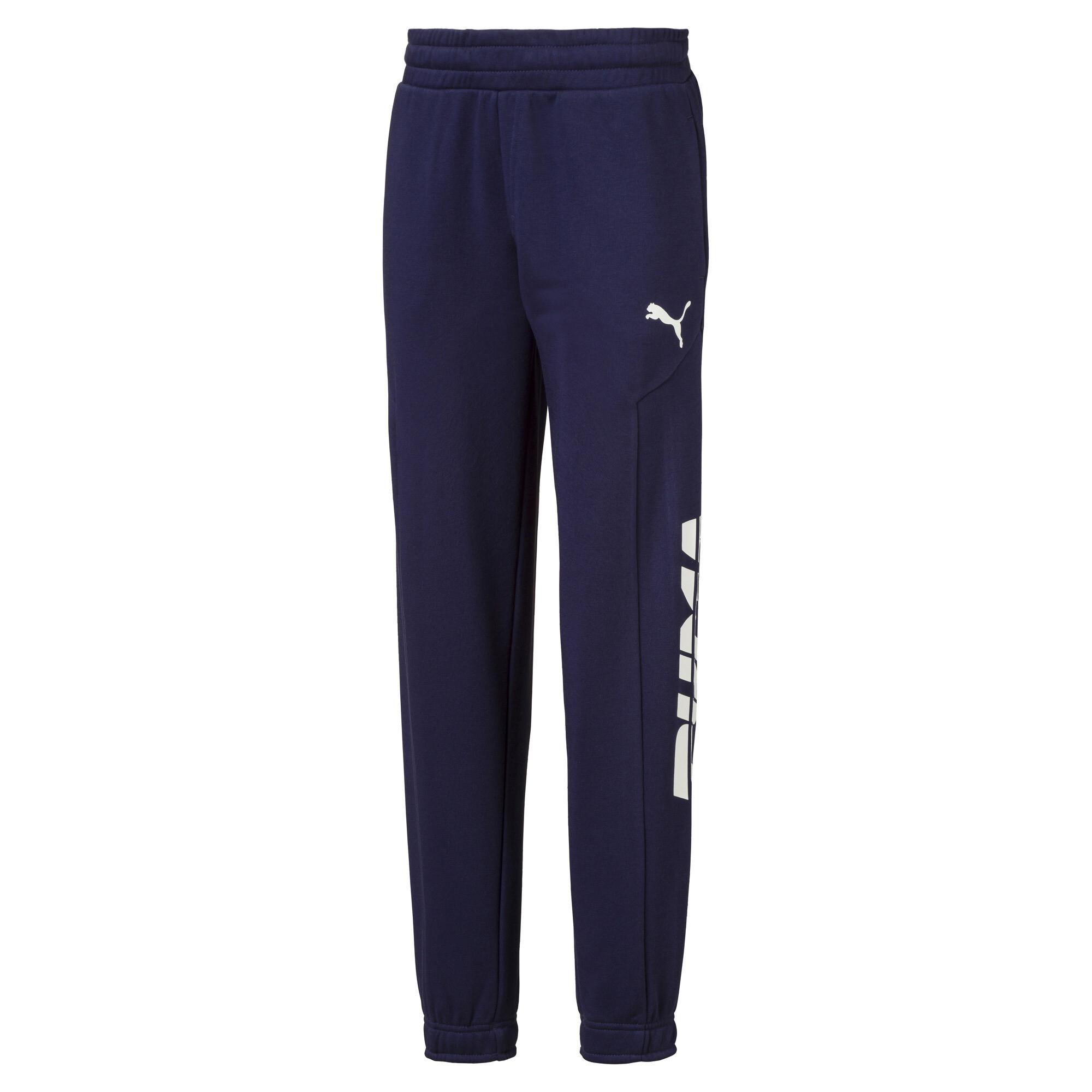 Image Puma Alpha Knitted Boys' Sweatpants #1