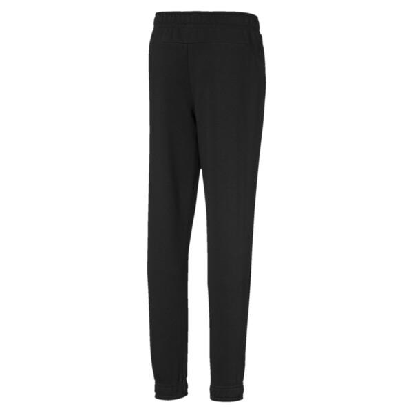 Active Boys' Sweatpants, Cotton Black, large