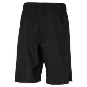 Thumbnail 2 of Active Sports Woven Boys' Shorts, Puma Black, medium