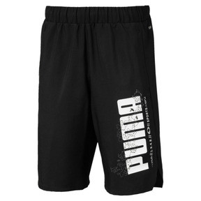 Thumbnail 1 of Active Sports Woven Boys' Shorts, Puma Black, medium