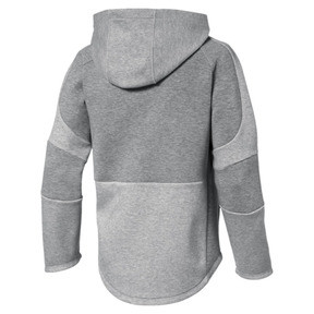 Thumbnail 2 of Evostripe Boys' Hoodie, Medium Gray Heather, medium