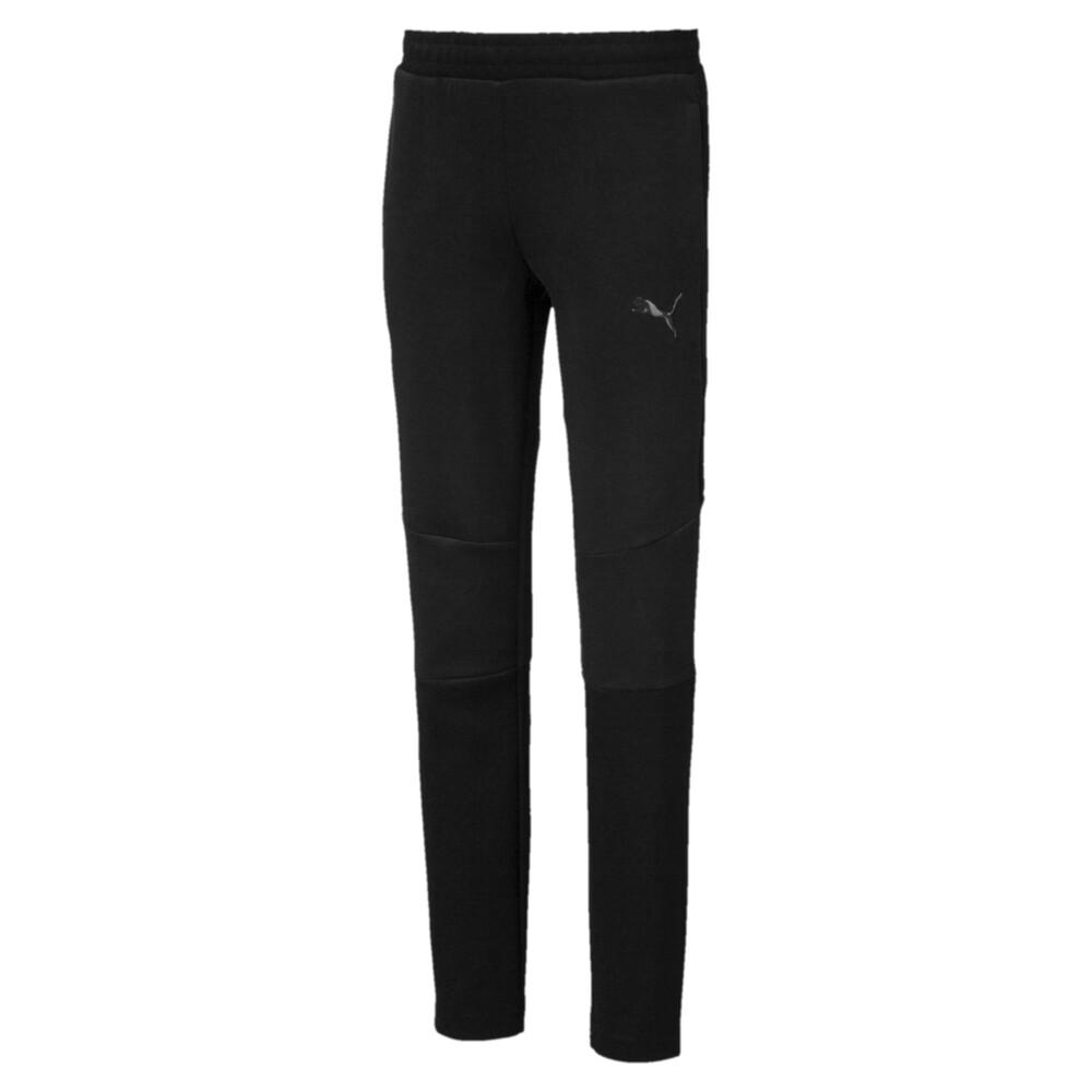 Фото - Детские штаны Evostripe Pants черного цвета
