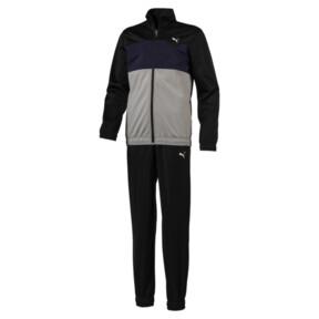 Thumbnail 1 of Tricot I Boys' Track Suit, Puma Black, medium