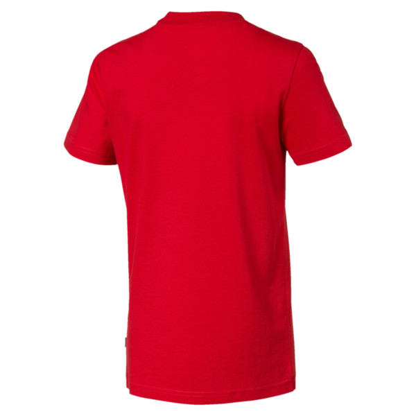 Rebel Bold Boys' Tee, High Risk Red, large