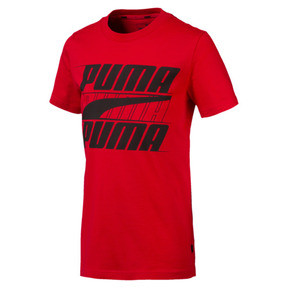 Thumbnail 1 of Rebel Bold Boys' Tee, High Risk Red, medium