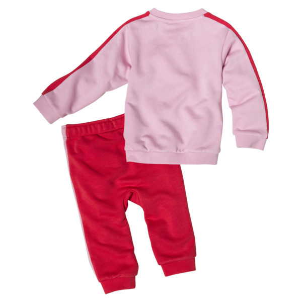 Minicats Infant + Toddler T7 Crew Jogger, Pale Pink, large