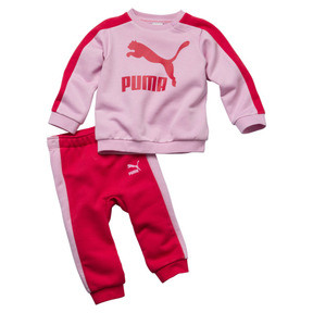 Thumbnail 1 of Minicats Infant + Toddler T7 Crew Jogger, Pale Pink, medium