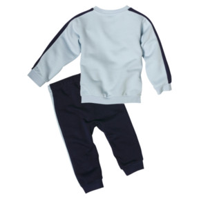 Thumbnail 2 of Minicats T7 Crew Jogger Infant + Toddler Set, Light Sky, medium