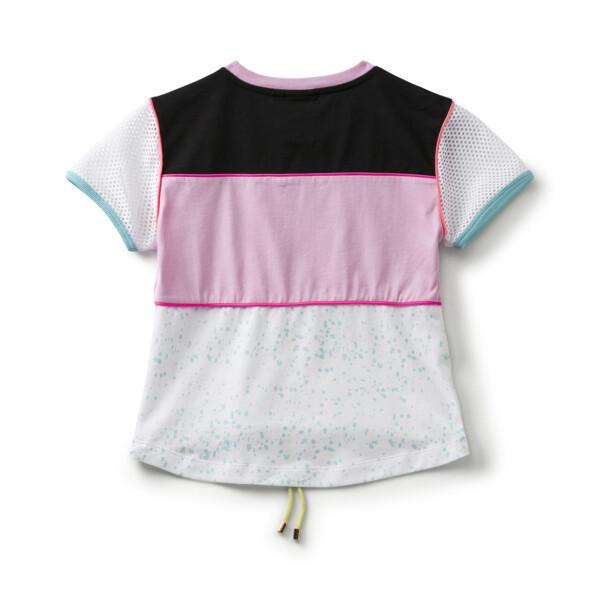 キッズ ガールズ PUMA x SOPHIA WEBSTER Tシャツ, Puma White, large-JPN