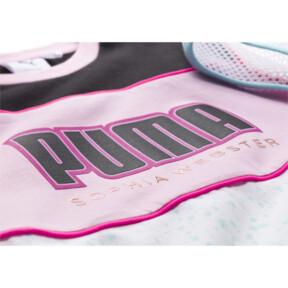 Thumbnail 3 of PUMA x SOPHIA WEBSTER Girls' Tee, Puma White, medium