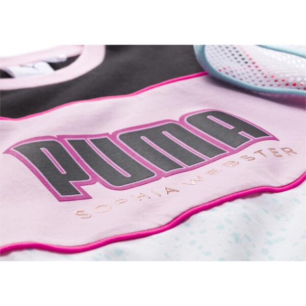 PUMA x SOPHIA WEBSTER Girls' Tee PS, Puma White, large