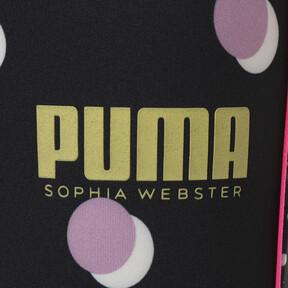 Thumbnail 3 of キッズ ガールズ PUMA x SOPHIA WEBSTER タイツ, Puma White, medium-JPN