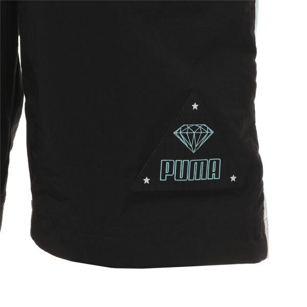 キッズ PUMA x DIAMOND ショーツ, Puma Black, large-JPN