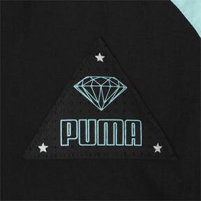 Thumbnail 4 of キッズ PUMA x DIAMOND トラックトップ, Puma Black, medium-JPN