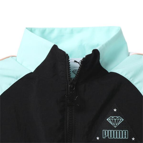 キッズ PUMA x DIAMOND トラックトップ, Puma Black, large-JPN