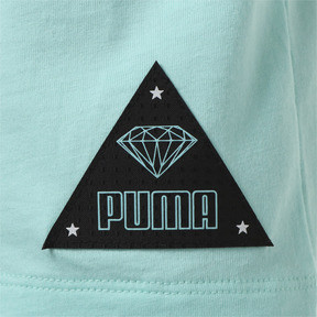 Thumbnail 3 of キッズ PUMA x DIAMOND Tシャツ, ARUBA BLUE, medium-JPN