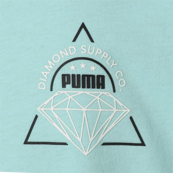 キッズ PUMA x DIAMOND Tシャツ, ARUBA BLUE, large-JPN