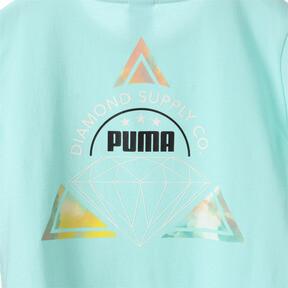 Thumbnail 7 of キッズ PUMA x DIAMOND Tシャツ, ARUBA BLUE, medium-JPN