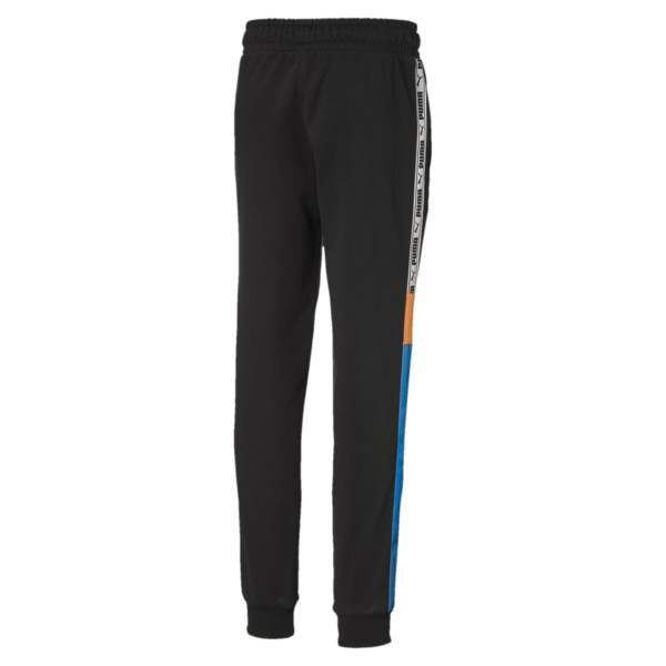 Pantalones deportivos PUMA XTG JR, Cotton Black, grande