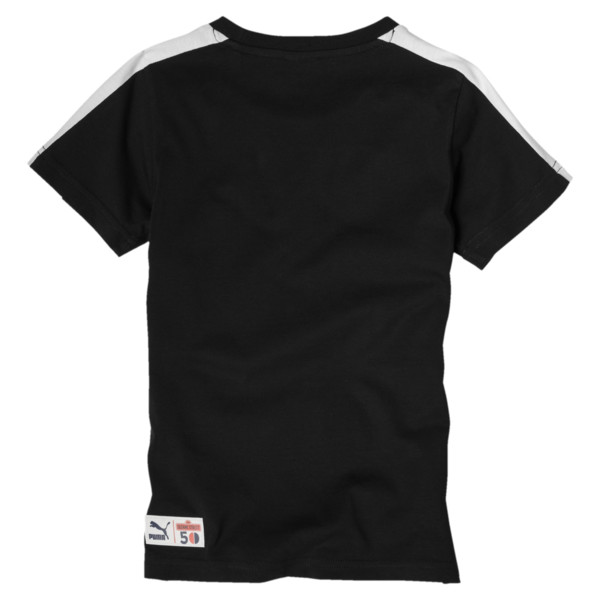 PUMA x SESAMSTRASSE Jungen T-Shirt, Cotton Black, large