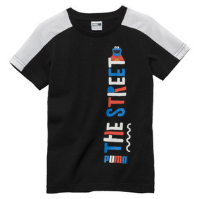 Miniatura 1 de Camiseta PUMA x SESAME STREET para niño, Cotton Black, mediano