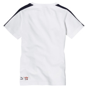 Thumbnail 2 of キッズ PUMA x SESAME STREET SS Tシャツ B (半袖), Puma White, medium-JPN