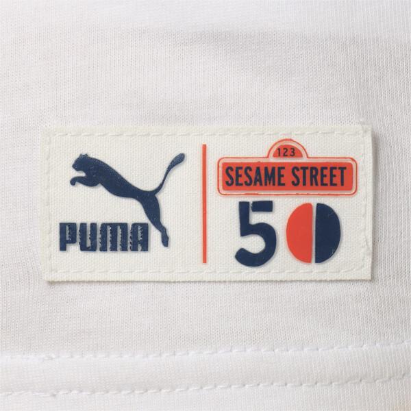 キッズ PUMA x SESAME STREET SS Tシャツ B (半袖), Puma White, large-JPN